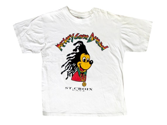 Bootleg Mickey Mouse Gone Dread T-Shirt