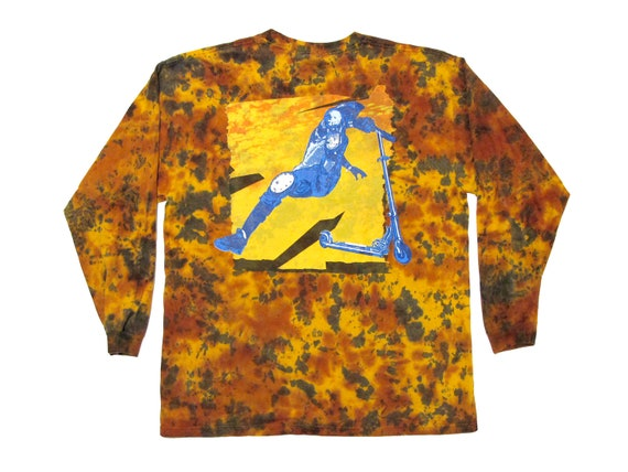 Razor Scooter Tail Whip Tie Dye L/S Shirt