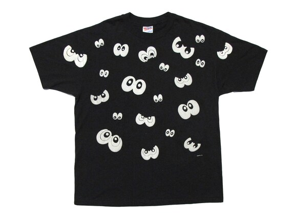 Eyes Glow in the Dark T-Shirt