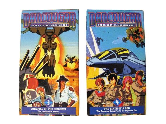 Dancougar Vol 3 & 4 VHS