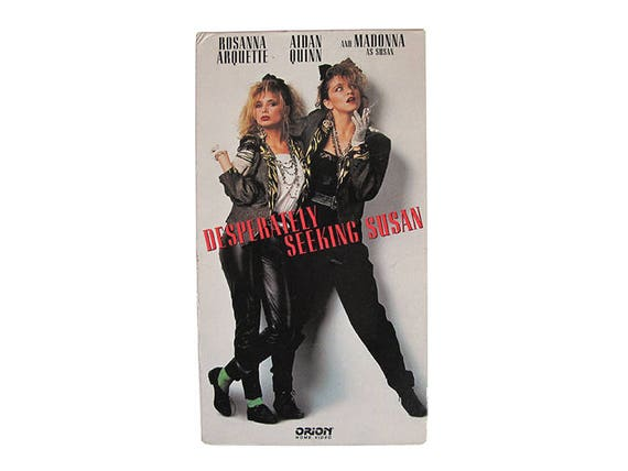 Desperately Seeking Susan VHS
