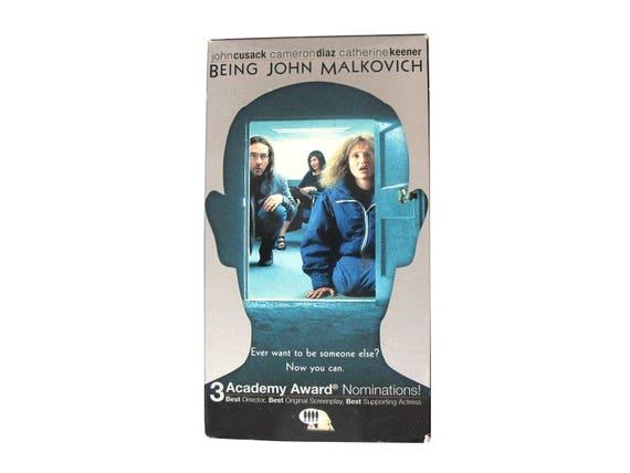 Being John Malkovich VHS