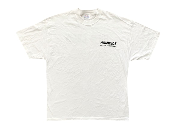 Homicide Life on the Street Film Crew T-Shirt