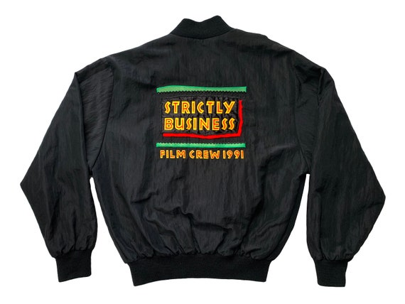 Strictly Business Film Crew 1991 Jacket