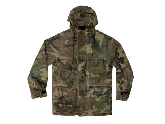 Fieldline Gore-Tex Zip Up Hooded Camo Jacket