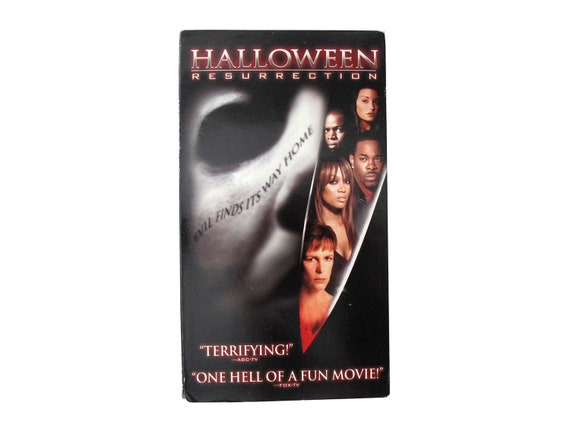 Halloween Resurrection VHS