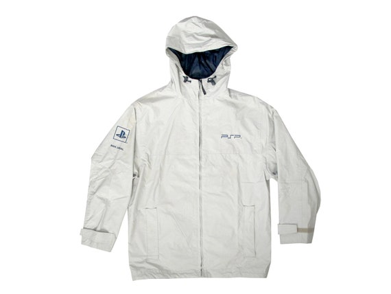 Playstation PSP Zip Up Hooded Rain Jacket