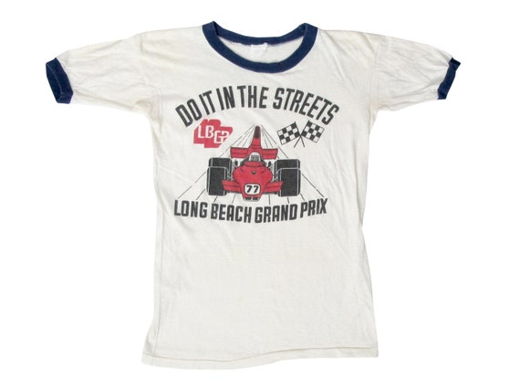 Long Beach Grand Prix Do It In The Streets Ringer T-Shirt