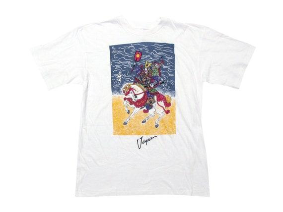 Japan Samurai Painting T-Shirt