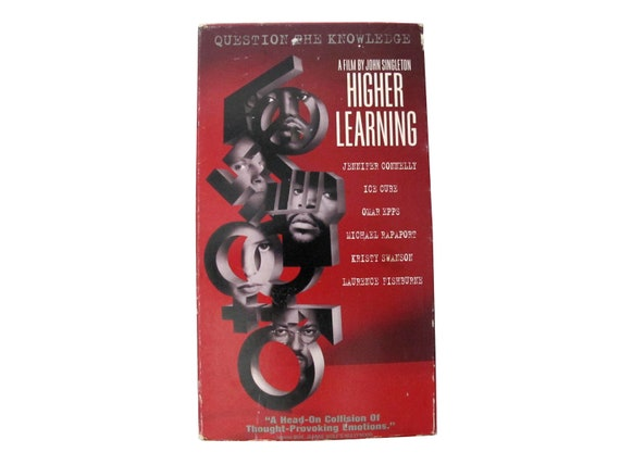 Higher Learning VHS