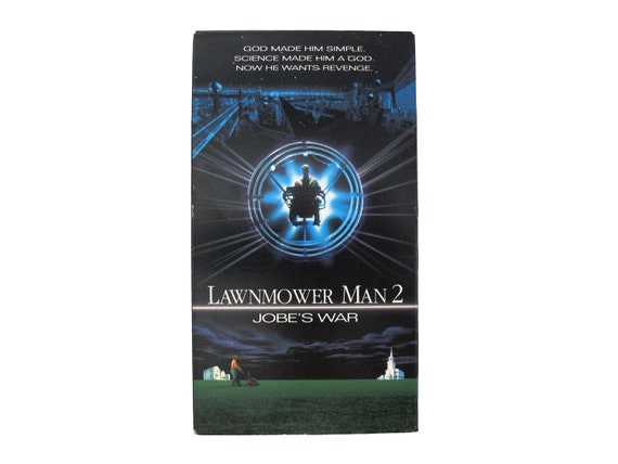 The Lawnmower Man 2 Jobe's War VHS