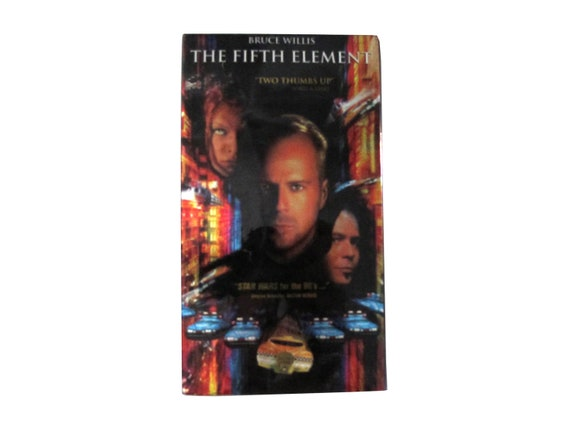 The Fifth Element Hologram VHS