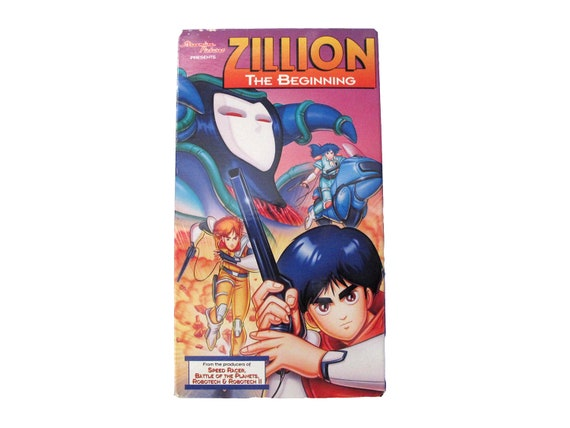 Zillion the Beginning VHS