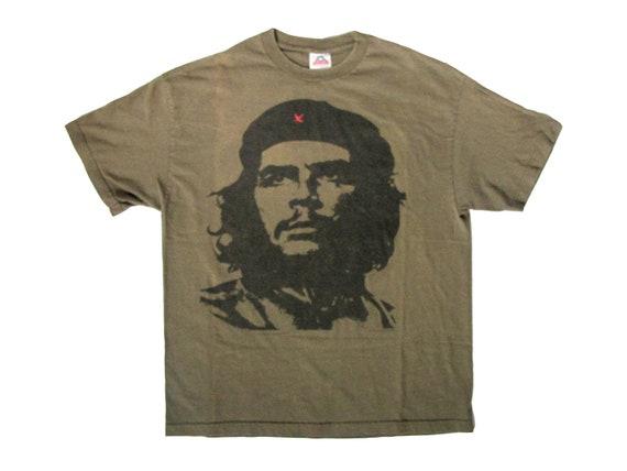 Che Guevara Green T-Shirt