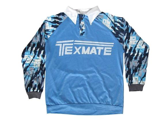 Texmate Blue & White Digital Camo Soccer Goalie Jersey