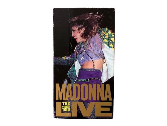 Madonna The Virgin Tour Live VHS