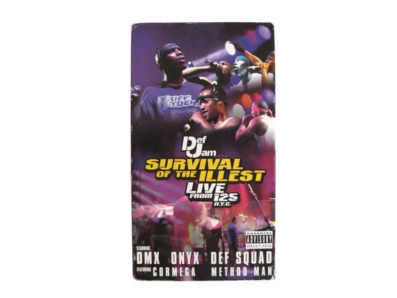 Def Jam Survival of the Illest VHS