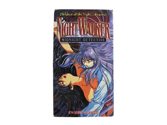 Night Walker MIdnight Detective VHS