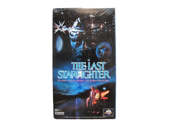 The Last Starfighter VHS