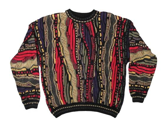 Carlo Alberto Australia Coogi Style Pull Over Sweater