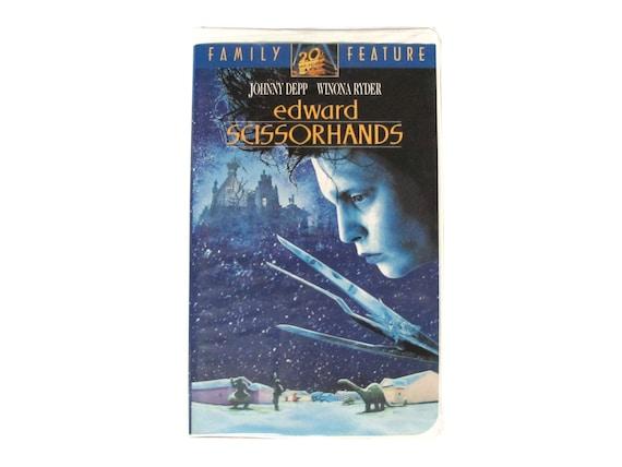 Edward Scissorhands VHS