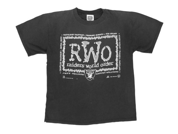 Oakland Raiders RWO Raiders World Order T-Shirt