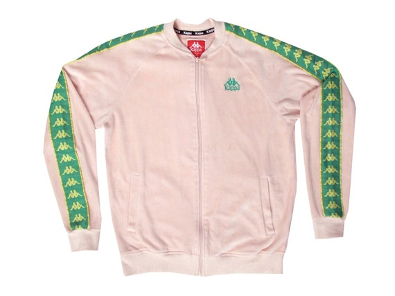 Kappa Pink & Green Track Jacket