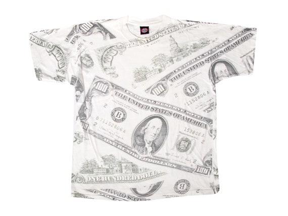 100 Dollar Bill All Over Print T-Shirt