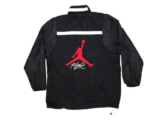 Nike Air Michael Jordan Flight Black Embroidered Jacket