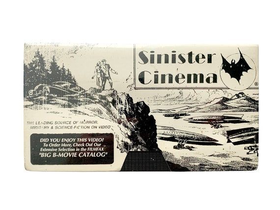 Bela Lugosi Sinister Cinema VHS