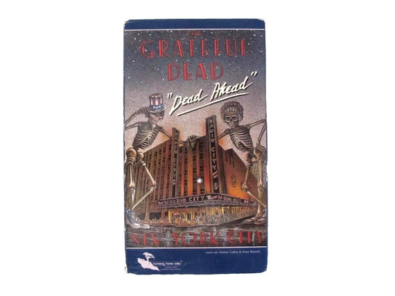 Grateful dead Dead Ahead VHS