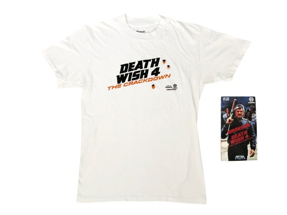 Death Wish 4 The Crackdown T-Shirt & VHS