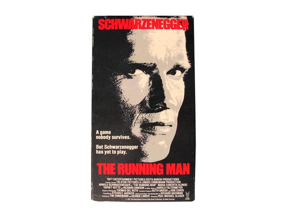 The Running Man VHS