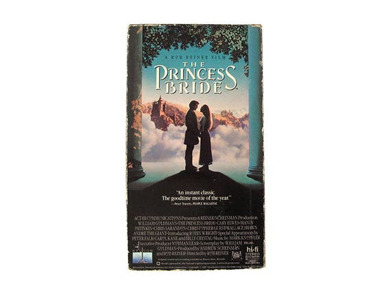 The Princess Bride VHS