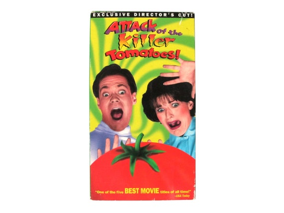Attack of the Killer Tomatoes Exclusive Directors Cut VHS