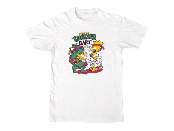 Bootleg Bart Ninja Turtles T-Shirt