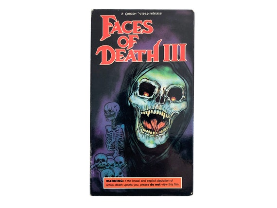 Faces of Death III VHS