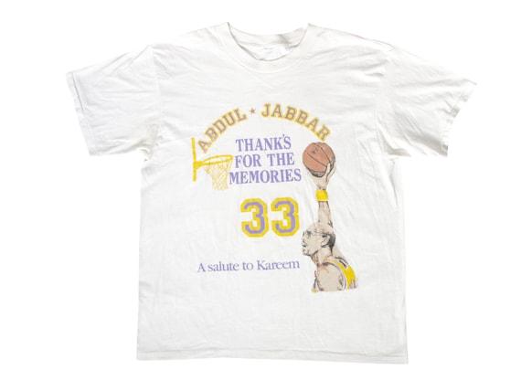 Kareem Abdul Jabbar Thanks for the Memories T-Shirt