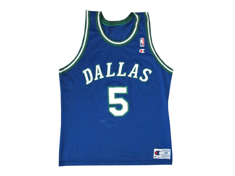 ae40d941f Vintage Jason Kidd Dallas Mavericks Champion Jersey Basketball