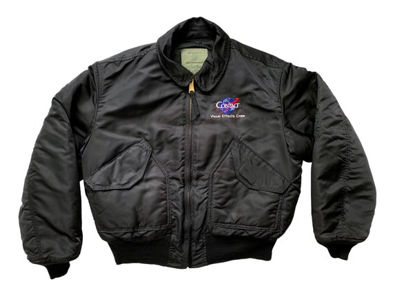 Contact Visual Effects Crew Alpha Bomber Jacket