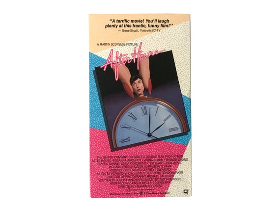 After Hours VHS