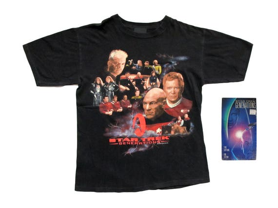 Star Trek Generations T-Shirt & VHS