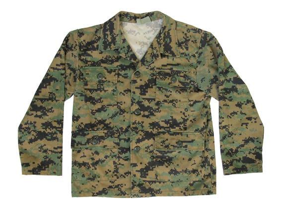 Vintage Tiger Camouflage Military Jacket