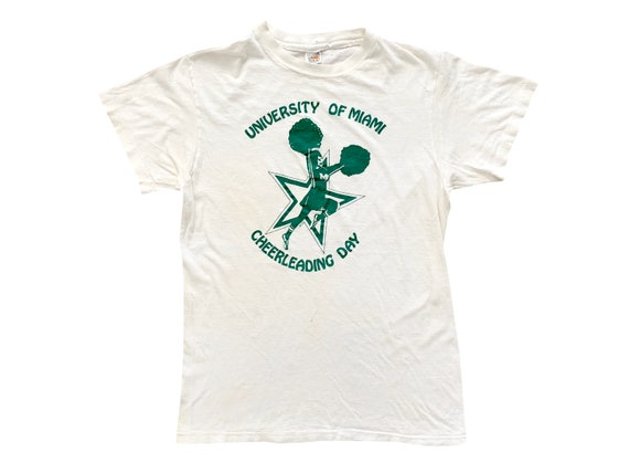 University of Miami Cheerleading Day T-Shirt