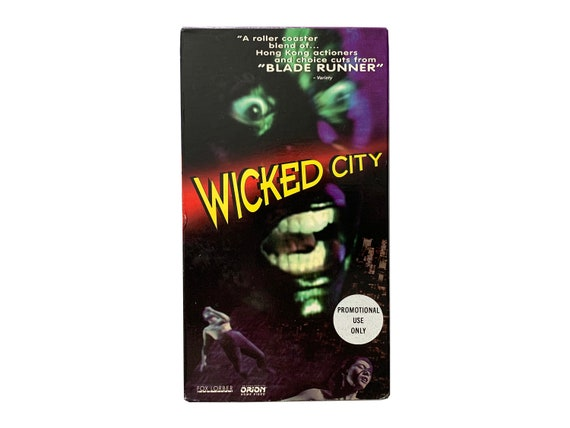 Wicked City VHS