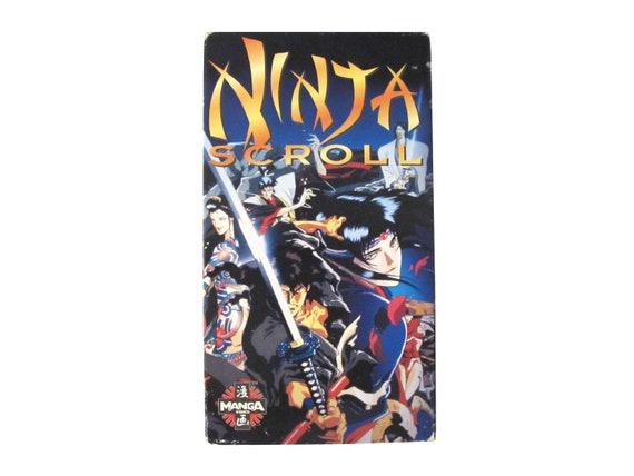 Ninja Scroll VHS