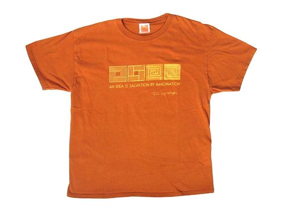 Frank Lloyd Wright An Idea is Salvation by Imagination T-Shirt