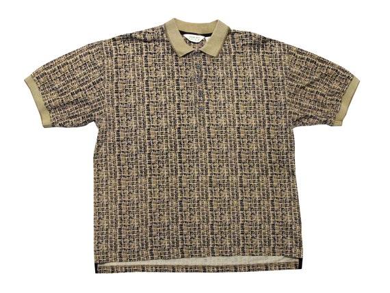Reebok Golf All Over Graphic Polo Shirt