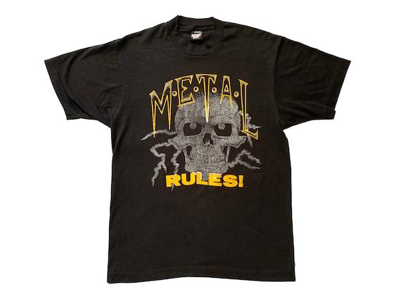 Metal Rules Skull T-Shirt