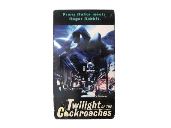 Twilight of the Cockroaches VHS